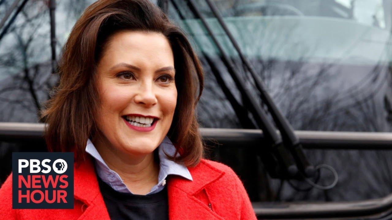 WATCH: Michigan governor Gretchen Whitmer gives coronavirus update ...