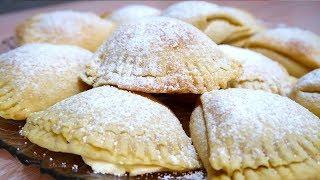Воздушное печенье с белковым кремом  Сугробики
