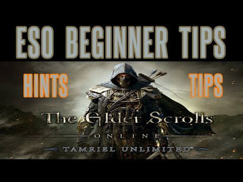 Elder Scrolls Online - Beginner Tips Hints Level Up Fast XP - Guide Strategy