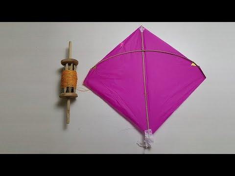 paper Kite Making || How To Make Paper kite | Paper Girl