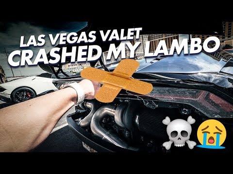 LAS VEGAS VALET CRASHED MY LAMBORGHINI