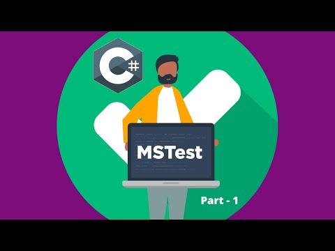MsTest Part 1