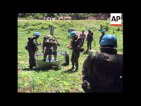 BOSNIA: SARAJEVO: SNIPER SCREENS ERECTED