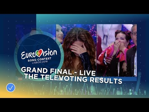 The exciting televoting results sequence of the 2018 Eurovision Song Contest!