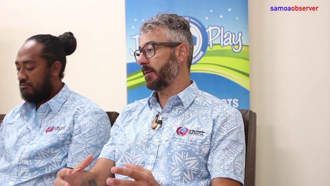 Samoa's Futsal Team heads to New Zealand - Dauer: 58 Sekunden