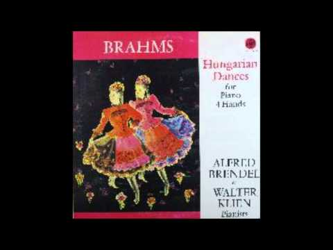 Brahms,Hungarian Dances, For Piano 4 Hands ,Alfred Brendel ,Walter Klein, Piano No 1,,No 10