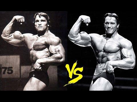 Arnold Schwarzenegger: 1975 Mr. Olympia vs. 1980 Mr. Olympia: The Truth