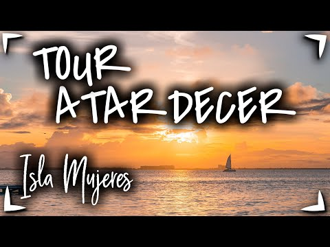 Tour ISLA MUJERES ATARDECER 🔴Barra libre ✅TOUR en RIVIERA MAYA ► Que hacer en Cancun familiar✅ NIÑOS