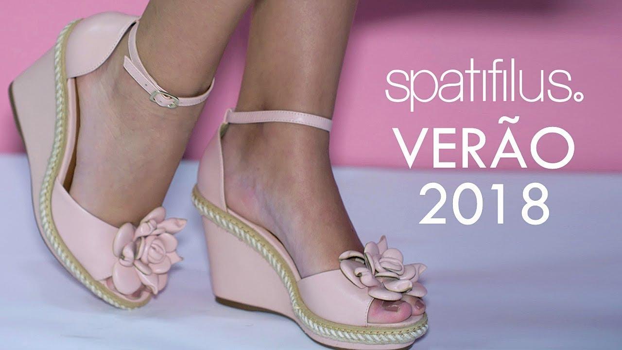 f00e0bed98 Moda Verão 2018  Sapatos Femininos Moda Verão 2018 - Tendências 2018 -  Spatifilus