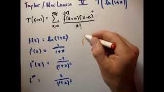 Thermodynamics 17 : Taylor Expansion Ln(1 X)