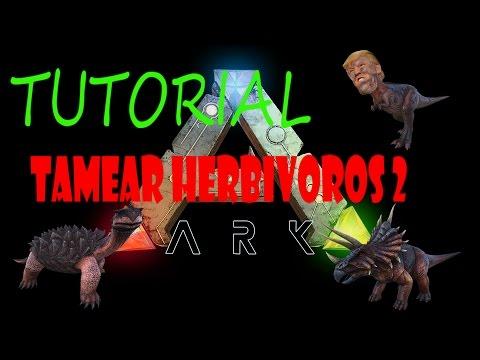 ARK SURVIVAL EVOLVED - TUTORIAL TRUCO STIMBERRY PARA HERBIVOROS 2