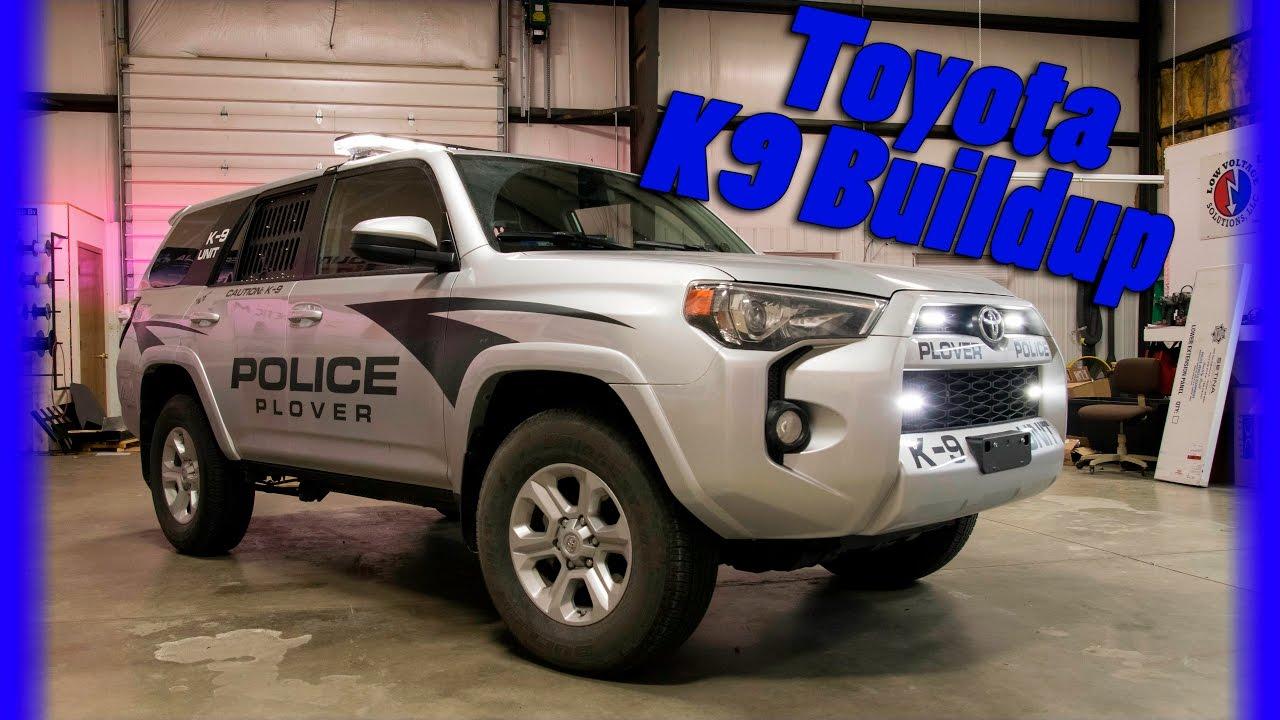 2017 Toyota 4Runner >> Toyota 4 Runner Police K9 Squad for Plover Wisconsin - YouTube