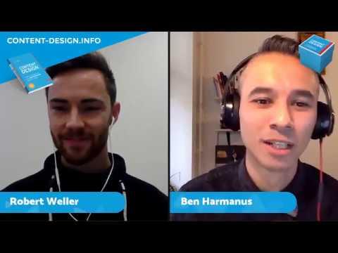 CONTENT DESIGN Live #1 Die Idee zum Content Design-Buch