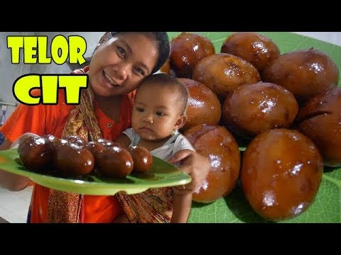 TELOR CIT Ala Salembrot   Kuliner Masak