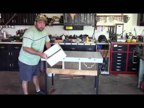 Small Engine Repair Workbench