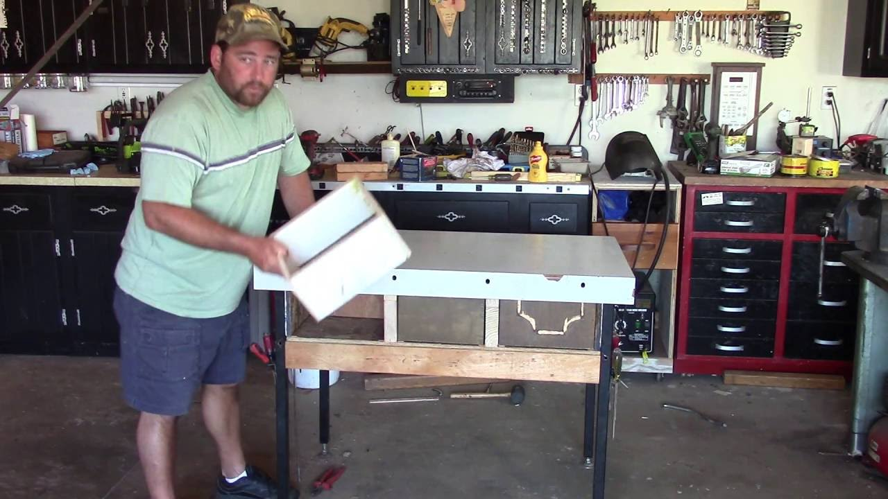 Small Engine Repair Workbench Youtube