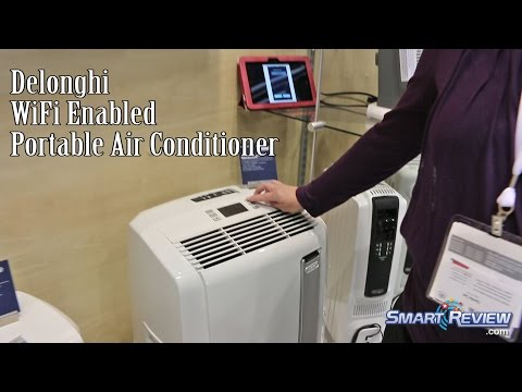 IHHS 2016   DeLonghi Wifi Enabled Air Conditioner   Penguino Line   Chicago Home Show