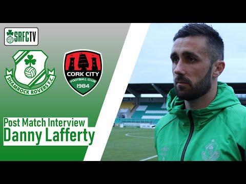 Danny Lafferty post match interview v Cork City 31-08-20