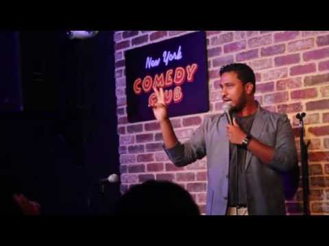 When Indians go Abroad - Abish Mathew (New York Comedy Club)