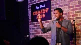 Abish Mathew - When Indians go Abroad - New York Comedy Club