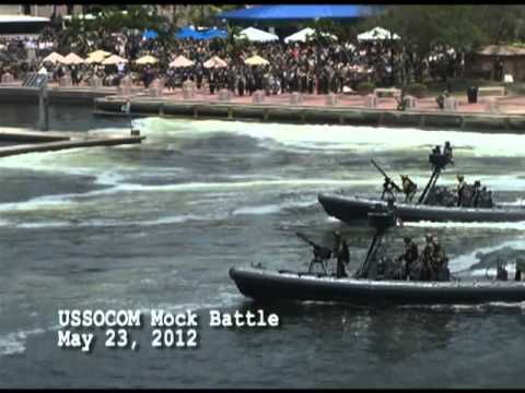 US Special Operations Command (USSOCOM) Mock Battle in Downtown Tampa
