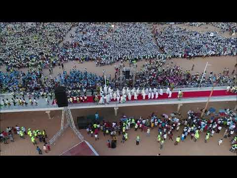 JMJ MADA 9: Ouverture Officielle - Majunga - Madagascar (Drone Vidéo).