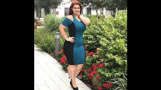 Plus Size Tight Fitted Dresses Outfit Ideas - Plus Size Fashion Tips