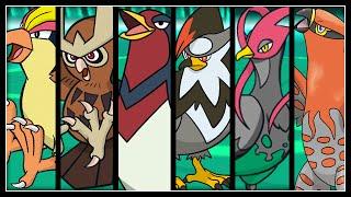FULL POKEMON GENERATION BIRDS TEAM!