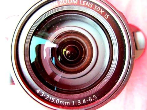 Canon PowerShot SX530 HS - камера с 50-кратным зумом - видео обзор