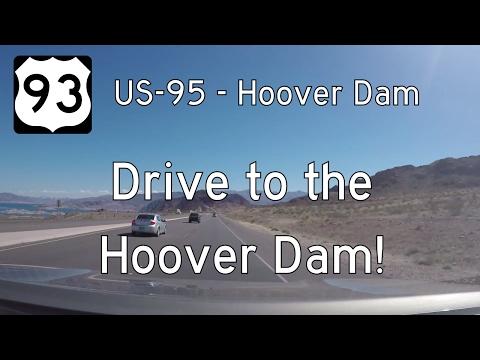 US Highway 93 - Boulder City - Hoover Dam - Nevada   Drive America's Highways 🚙