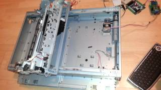 3d Printer Made From Scrap Parts Part 1