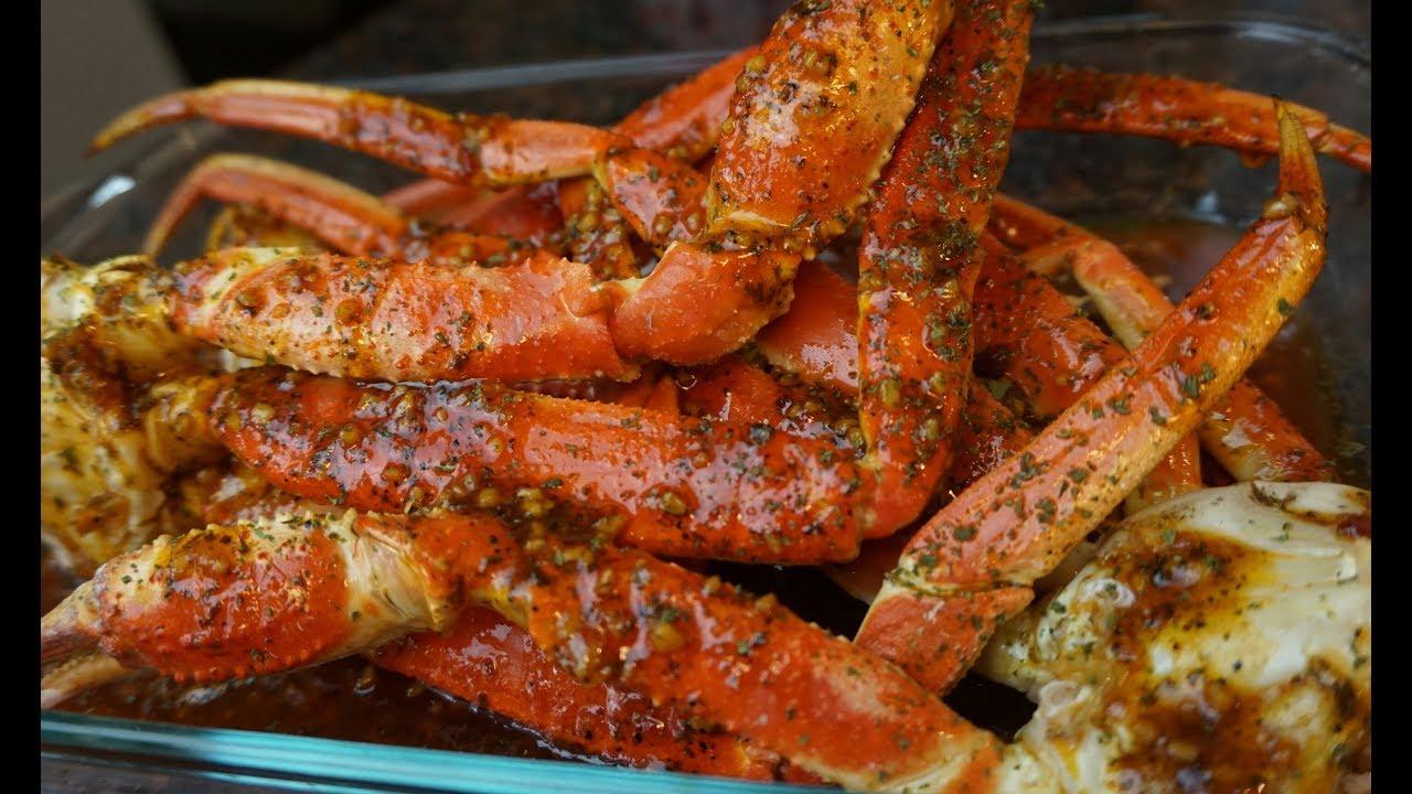 Crackin Crab Legs Garlic Sweet Chili Crab Legs Crab Butter