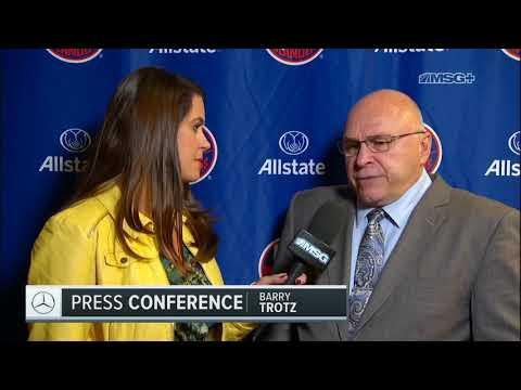 Barry Trotz Full of Praise For Brock Nelson | New York Islanders | MSG Networks