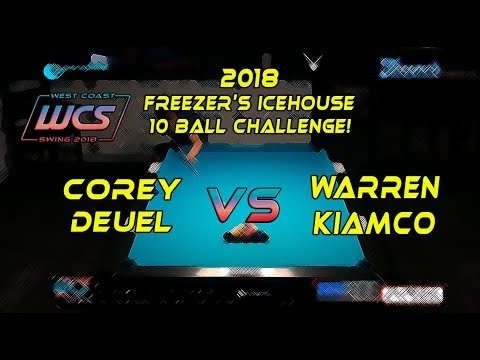 #8 - Corey DEUEL vs Warren KIAMCO - The 2018 Freezer's Icehouse 10-Ball Challenge!