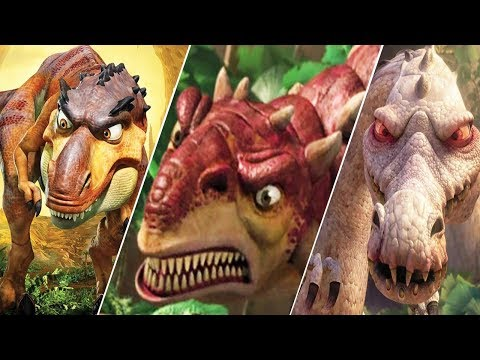Ice Age 3: Dawn Of The Dinosaurs - All Bosses