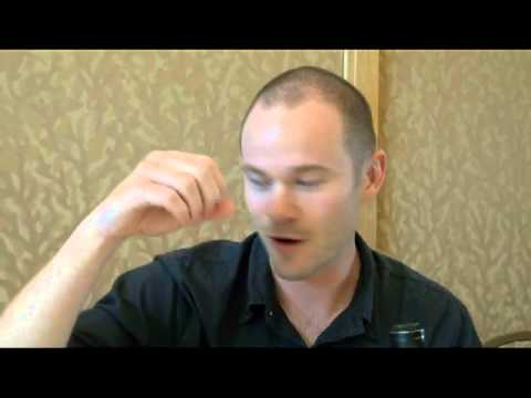 Aaron Ashmore of Warehouse 13 SDCC 2013