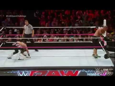 WWE Dolph Ziggler Zig Zag John Cena 2015