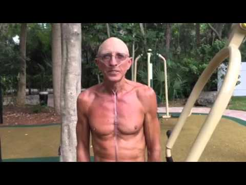 67 Year Old With Stage 4 Cancer Does Amazing Workout