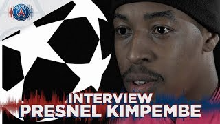 PRESNEL KIMPEMBE - INTERVIEW : PARIS SAINT-GERMAIN vs MANCHESTER UNITED (FR 🇫🇷 & UK 🇬🇧)