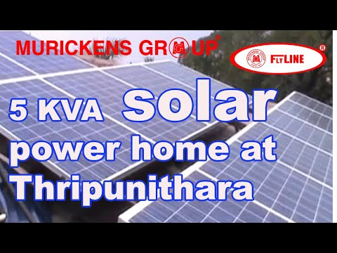 Pure sine wave solar power ups in kerala – Udayamperoor. murickens group