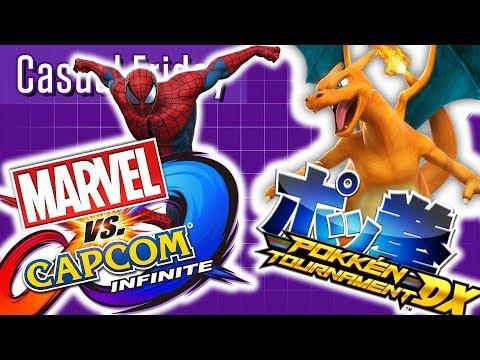 Marvel Vs Capcom: Infinite & Pokken Tournament DX    Casual Friday   Stream Four Star