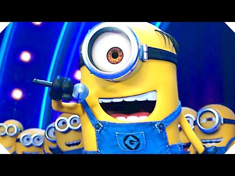 DESPICABLE ME 3 Minions Sing Movie Clip Song, 2017 Animation New Movie HD