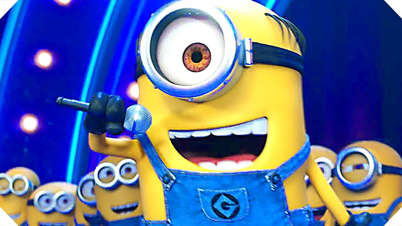 Despicable Me 3 Minions Sing Movie Clip Song Movie Hd Animation New Movie Hd Youtube