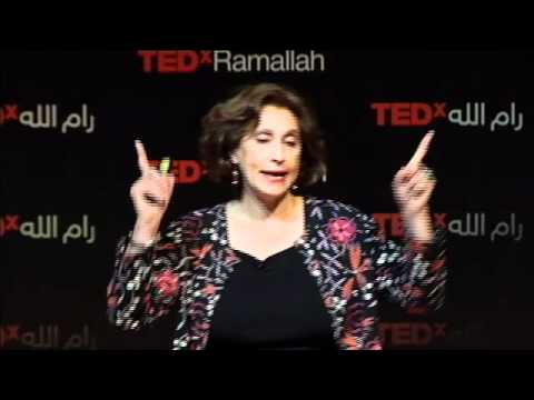 TEDxRamallah - Suad Amiry - My work My Hobby. Simply look inside you never at others.