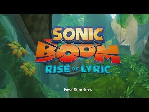Sonic Boom Rise of Lyric Longplay