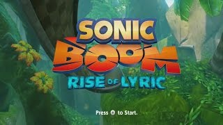 Sonic Boom Rise of Lyric Longplay
