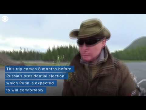 Putin Enjoys Shirtless Hunting And Fishing Trip
