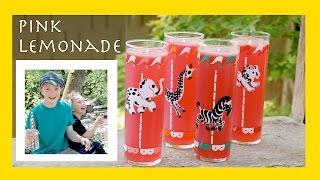 "Homemade Pink Lemonade Plus An Important Discussion On ""brown Lemonade"" ;)"