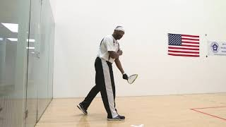 Racquetball training for veterans 5 of 12 - TYPES OF SERVES