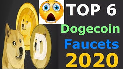 Best 6 Highest Paying Dogecoin Faucet 2020 Free Payment Proof | Top Free Dogecoin Faucets Instant ✅